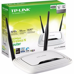 Router Tp-link Tl Wr 841n 300mbps 2 Ant Fijas Oficial