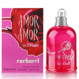 Amor Amor In A Flash De Cacharel Eau De Toilette 100 Ml