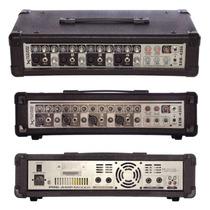 Consola Potenciada Sxm4200 Cabezal 4 Canales Mixer 240w