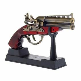 Isqueiro Garrucha + Isqueiro Chama Dupla + Isqueiro Revolver
