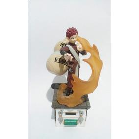 Boneco Naruto Miniatura Estatua - Gaara - Sasuke Cada - 100%