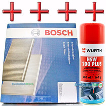 Spray Wurth + Filtro Ar Condicionado Gol Voyage G5 Polo Fox