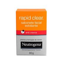 Sabonete Esfoliante Facial Neutrogena Rapid Clear