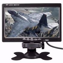 Tela Automotiva De 7 Polegadas Monitor Digital Lcd Portátil