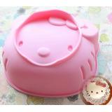 Molde Hello Kitty De Silicona Grande Para Keke Torta