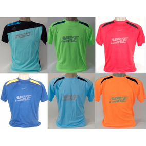 Lote 05 Camisetas Dry Fit Academia Ginástica Masculina