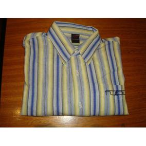 Camisa Fubu Original Mide De Axila A Axila 52 Cms 12/14