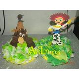 Centro De Mesa C Servilletero Toy Story Buzz Woody Jessie