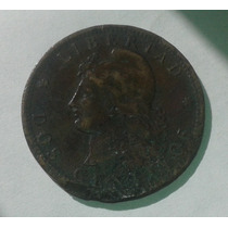 Moneda Argentina 2 Centavos Patacon 1884