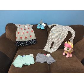 Lote De Bebe Niña 18-24 Meses Nuevo Gap Disney Store Carters