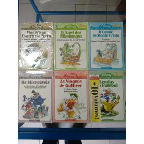 6 Clássicos Da Literatura Disney 15,16,17,18,19, 20 - Novos