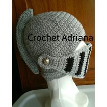 Gorro Medieval Tejida A Crochet, Lana Hipoalergénico!!!