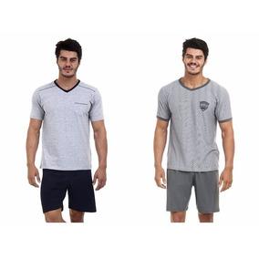Pijama Masculino Conforto Kit Com Dois Pijamas Revenda