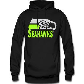 Sudadera Seahawks Seattle Hoodie Capucha Con Cangurera