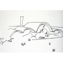 Oscar Niemeyer, Desenho A Nanquim Em Leilão.