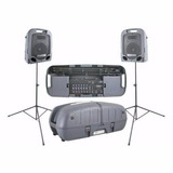 Escort 3000 Usb Peavey Sistema De Audio Portatil Con Mixer