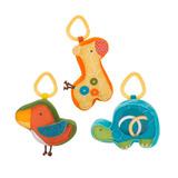 Juguete Giraffe Safari Rattle Pal Trio Skip Hop
