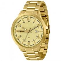 Relógio Lince Mrg4271s C2kx Dourado Masculino - Refinado