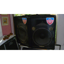 Par De Cornetas Monitores Yamaha S15e