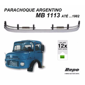 Parachoque Dianteiro Argentino Caminhão Mb 1113 Até ...1982