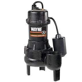 Wayne Rpp50 De Hierro Fundido De La Bomba De Aguas Residuale
