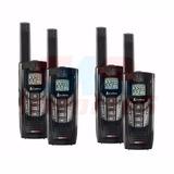 4 Radio Comunicador Walkie Talkie Cobra Cxr-925 P/ Até 56km