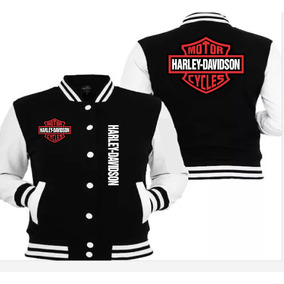 Chamarra Harley Davidson Bordada Envio Grati