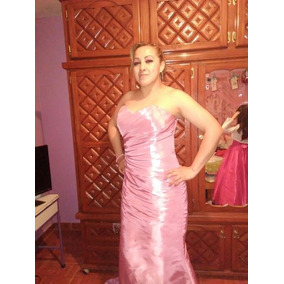 Vestidos de fiesta largos color rosa palo