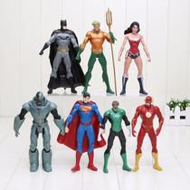 Boneco Liga Da Justiça Dc Lanterna Verde Cyborg Unitário