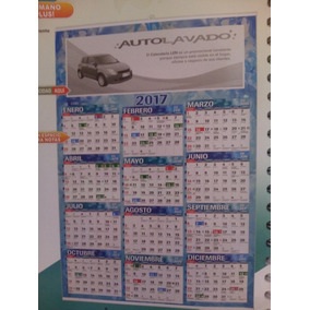 Calendario De Pared Con Varilla