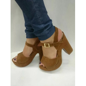 Plataforma Sandalia Tacones De Moda Calzado Colombiano Dama
