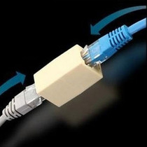 Union Rj45 Hembra Hembra Cupla Utp Cable Red Pinza Fichas
