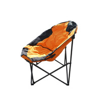 Silla Plegable De Playa Soporta 200 Kilos Muy Comoda Naranja