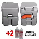 Inodoro Químico Portátil 20 L + 2 Disgregantes+ Envio Gratis