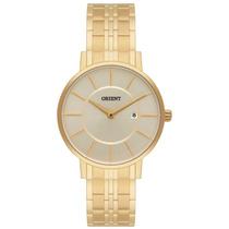 Relógio Orient Feminino Dourado Analógico C/ Data Fgss1105