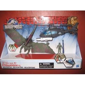 Jurassic World Pteranodon Vs Helicoptero Park Pelicula 2015