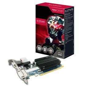 Placa De Vídeo Vga Sapphire Amd Radeon R5 230 1gb Ddr3 Pci-