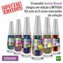 Edição Especial Kit Com 5 Unidades - Esmaltes Aurora Boreal