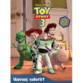 Livro Disney - Vamos Colorir - Toy Story 3