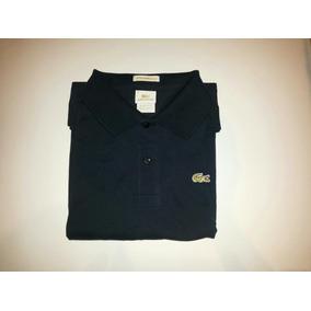 525f8c53bc382 Camisa Polo Lacste Original Azul Marinho - Calçados