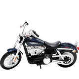 Miniatura Moto Harley Davidson Dyna Fxdbi Street Bob 2006