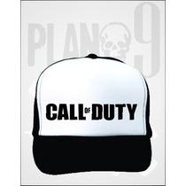 Gorra Trucker Call Of Duty