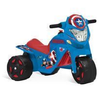 Brinquedos Menino Moto Elétrica Capitão América Bandeirantes