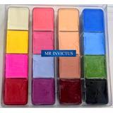Bella Dersina Paleta Maquillaje Artistico De 16 Colores