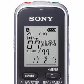 Gravador De Voz Digital Portátil Sony Icd-bx112 Grava 534hrs