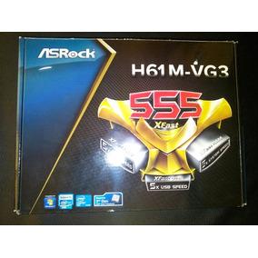 Caja Asrock H61m-vg3 1155, I3 I5 I7