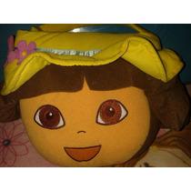 Canasta Halloween Peluche Dora La Exploradora Nickelodeon