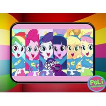 Cartuchera 2 Pisos Personalizada Equestria Girls Pony