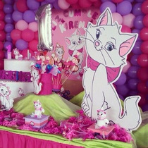 Marie . La Gatita * Candy Bar Cumple Completo 20 Niños