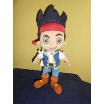 Lote 3 Peluches Jake Y Los Piratas De Nunca Disney Store